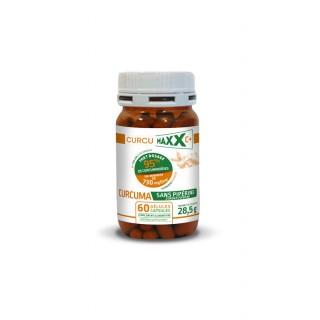 CurcumaXX Gélules Bio 95% sans Pipérine - 60 gélules