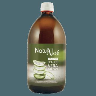 Naturaloé pur jus frais d'aloé vera bio 1litre