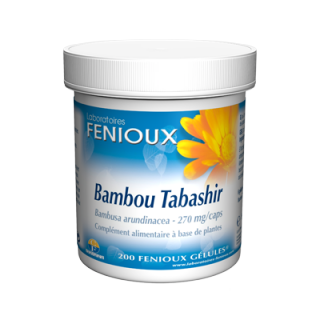 Fenioux bambou tabashir 200 gélules