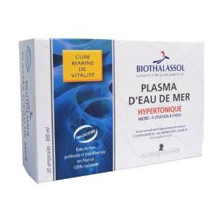 Biothalassol plasma hypertonique 30 ampoules de 10 ml