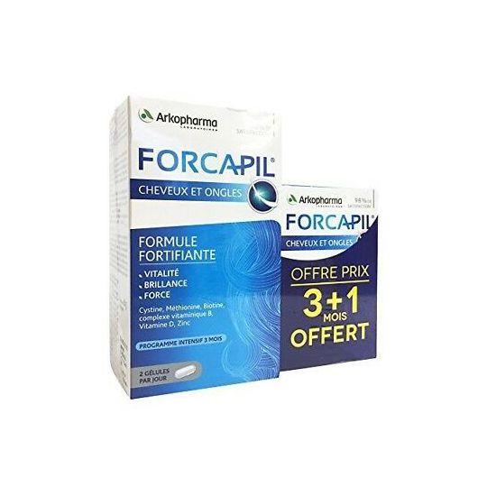 Forcapil 180 gélules +60 offertes