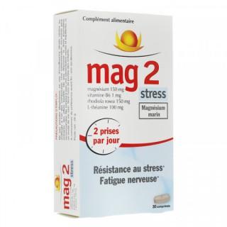 Mag 2 stress magnésium marin 30 comprimés