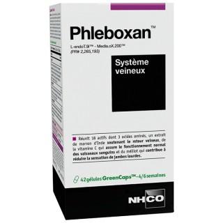 NHCO Phleboxan système veineux - 42 gélules