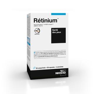 NHCO Rétinium - 28 gélules + 28 comprimés