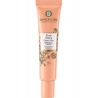 Sanoflore Crème riche Rosa Fresca Bio - 40ml
