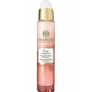 Sanoflore Concentré d'éveil ré-hydratant Rosa Angelica Bio - 30ml