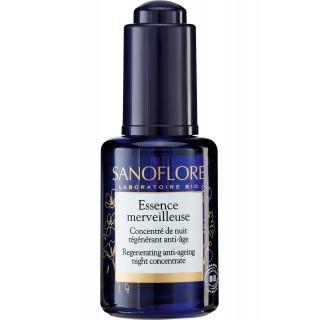 Sanoflore Concentré de nuit régénérant anti-âge Essence Merveilleuse Bio - 30ml