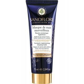 Sanoflore Baume aromatique régénérant Masque de Nuit Merveilleux Bio - 75ml