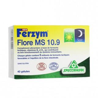 Specchiasol Ferzym Flore MS 10.9 - 40 gélules