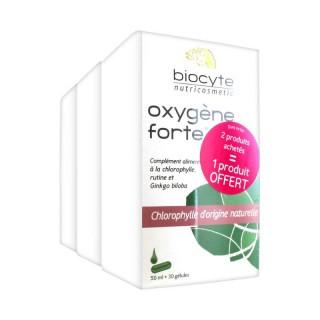 Biocyte oxygène forte regard lot de 3 boîtes