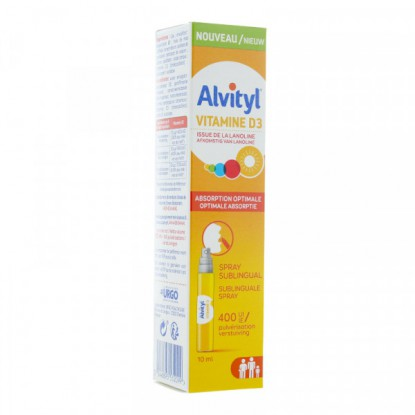 Alvityl vitamine D3 spray 10 ml