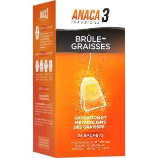 Anaca3 Infusions brûle-graisses - 24 sachets