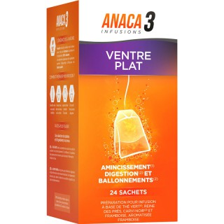 Anaca3 Infusions ventre plat - 24 sachets