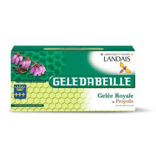 Landais Geledabeille gelée royale et propolis - 26 ampoules
