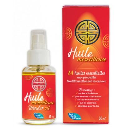 PhytoFrance Huile merveilleuse aux 64 huiles essentielles - 50ml