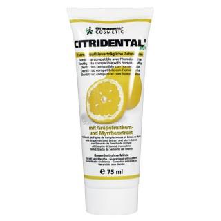Sanitas Dentifrice Citridental au pamplemousse - 75ml