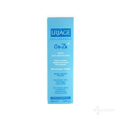 Uriage Cu-Zn+ spray 100ml