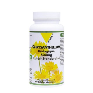 Vit'all + chrysanthellum bio 500g 60 gélules