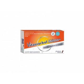 Vitascorbol mémo + 60 gélules