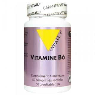 Vit'all + Vitamine B6 50 comprimés