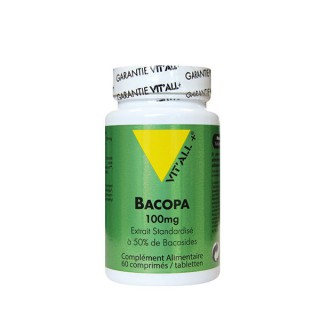 Vit'all + Bacoba 100mg 60 comprimés