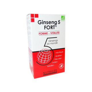Nutrigée Ginseng 5 fort - 60 comprimés