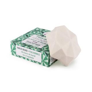 Lamazuna Pain de rasage solide au beurre de karité - 55g