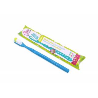 Lamazuna Brosse à dents rechargeable souple bleu turquoise