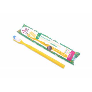 Lamazuna Brosse à dents rechargeable souple jaune