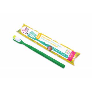 Lamazuna Brosse à dents rechargeable souple vert sapin
