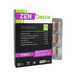 Synactifs ZenGreen stress - 30 gélules