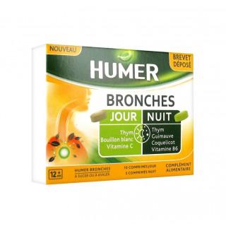 Urgo Humer bronches jour et nuit - 15 comprimés