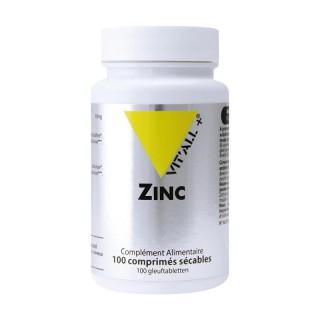 Vitall+ Zinc 30mg - 100 comprimés