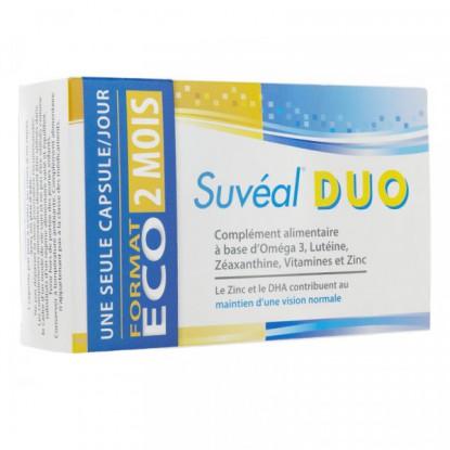 SUVEAL DUO Rétine 60 capsules