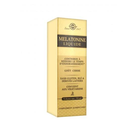 Solgar Mélatonine liquide goût cerise - 59ml