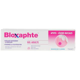 Bausch + Lomb Bloxaphte gel buccal adulte - 15ml