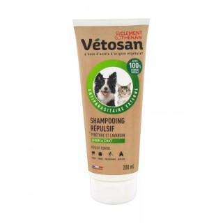 Vetosan Shampooing répulsif pour chien et chat - 200ml