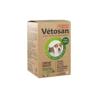 Vetosan Confort digestif chien et chat - 45 comprimés