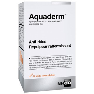 NHCO Aquaderm Anti-rides - 20 sticks