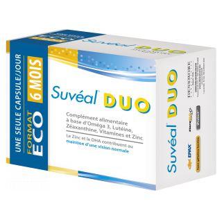 Suvéal duo Rétine 180 capsules