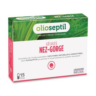 Ineldea Olioseptil nez gorge - 15 gélules végétales