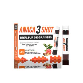 Anaca3 Shot brûleur de graisses - 14 unidoses
