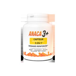 Anaca3+ Capteur 5 en 1 graisses et sucres - 120 gélules