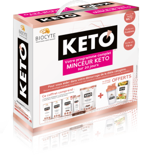 Biocyte Pack KETO - 20 jours