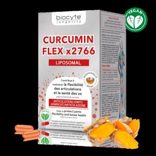 Biocyte Curcumin Flex x2766 - 120 gélules