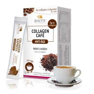 Biocyte Collagen Café anti-âge - 10 sticks