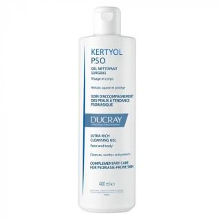 Ducray Kertyol PSO Gel nettoyant surgras visage et corps - 400 ml