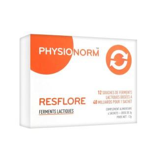 Immubio Physionorm resflore - 2 boites de 4 sachets