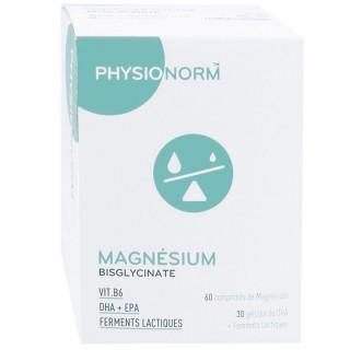 Immubio Physionorm magnésium bisglycinate - 60 comprimés + 30 gélules