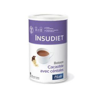 Boisson chocolat céréales insudiet 6 sachets
